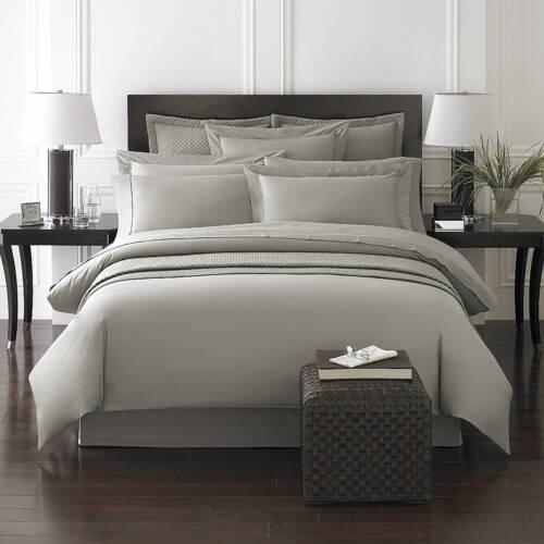 NEW! Kassatex Queen Luxury 100/%  Cotton Bamboo 2pc Sham or Euro Sham Set 300TC