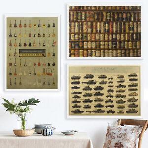 New-Retro-One-Piece-Poster-Kraft-Paper-Antique-Music-Poster-Bar-Wall-Decor