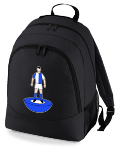Football-TEAM-KIT-COLOURS-Blackburn-Supporter-unisex-backpack-rucksack-bag