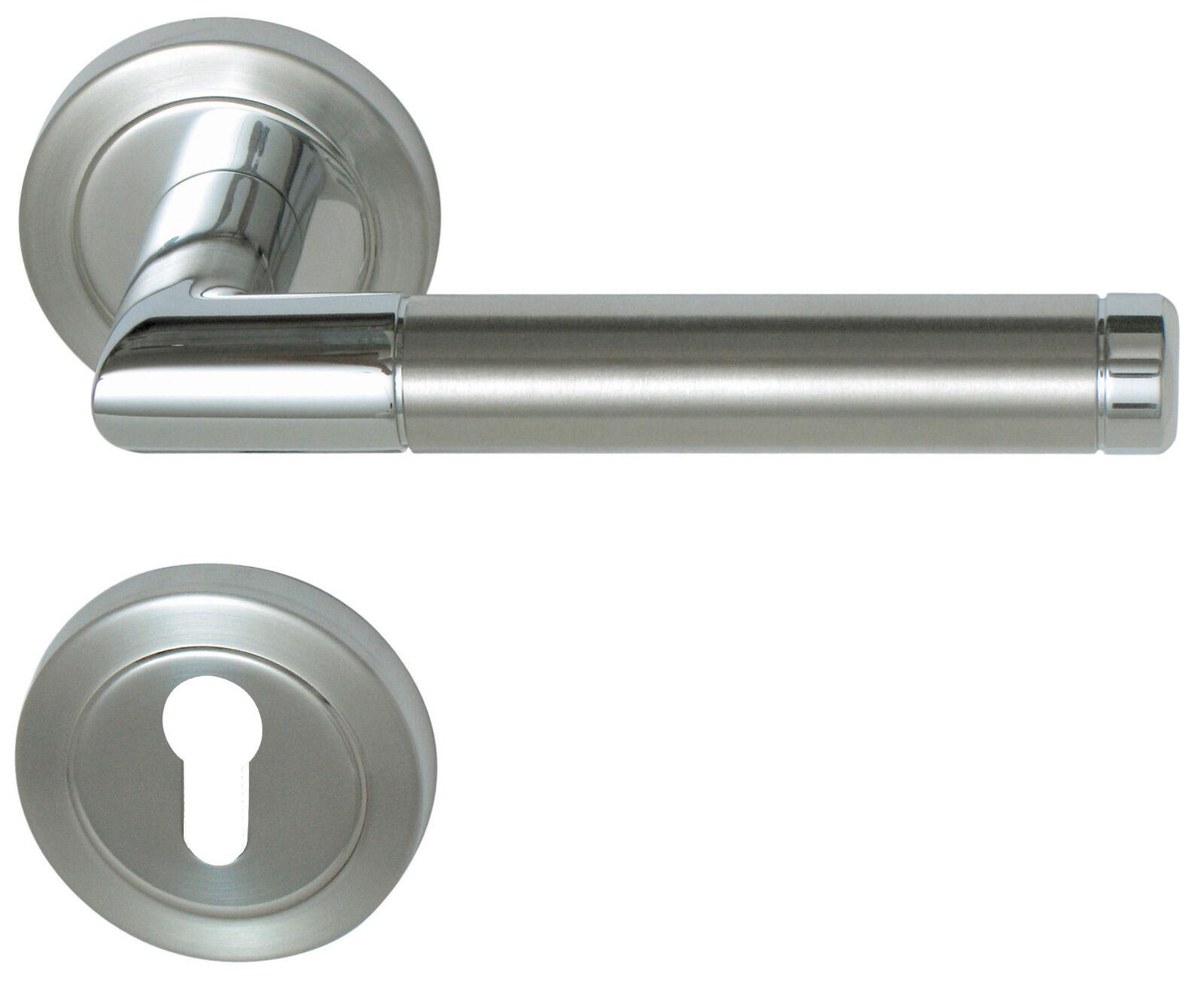 Südmetall Südmetall Südmetall Türbeschlag Royal Chrom Edelstahl für W-Eingangstüren 32540210 | Tadellos  ce8135