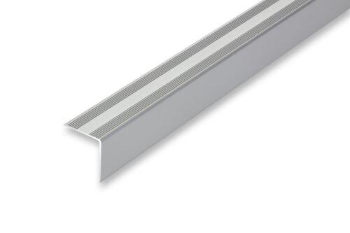 30 x 32 mm Treppenwinkel Treppenkante silber selbstklebend ≤ 1,50 m 8,99EUR//m