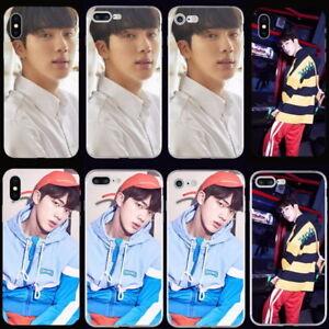 Kpop-Bangtan-Boys-JIN-Soft-TPU-Phone-Case-Cover-For-iPhone-X-6-6s-6-7-8-Plus