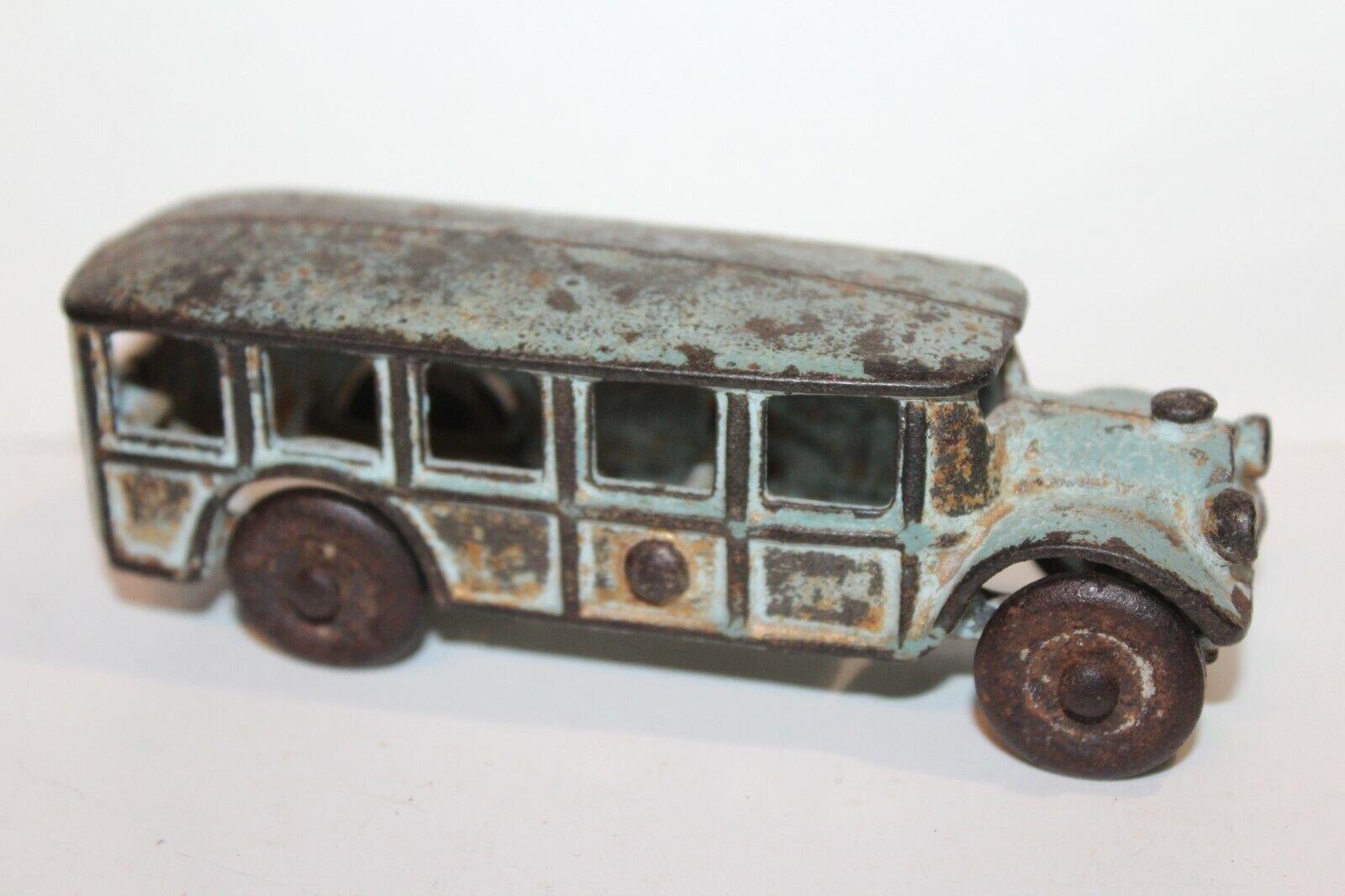 VINTAGE A.C. WILLIAMS CAST IRON 1920'S FAGEOL BUS