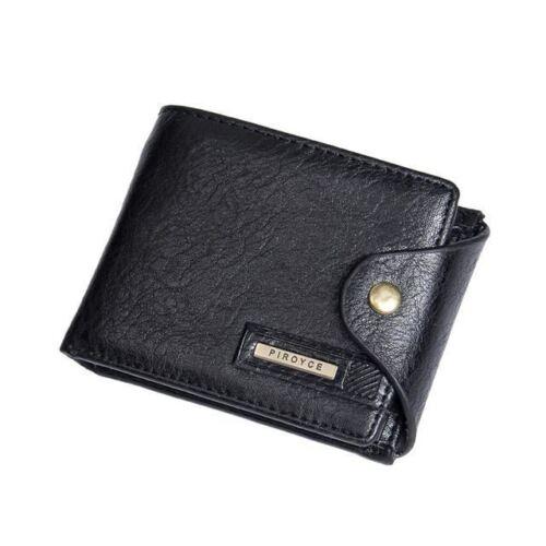 Small wallet men multifunction purse men wallets with coin pocket zipper men lea
