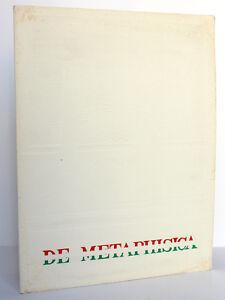 De-Metaphisica-Suites-9-Mai-1965-Galerie-Krugier-amp-Cie-Catalogue