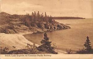 Beach-Lake-Superior-on-Canadian-Pacific-Railway-Scenery