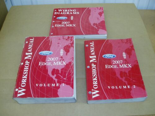 lincoln mkx 2007 ford edge lincoln mkx service shop dealer wiring electrical manual