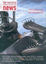 Toyota Gabelstapler News 12/03 7FBEF 7FBRE 16-25 forklifts Japan Asien Asia