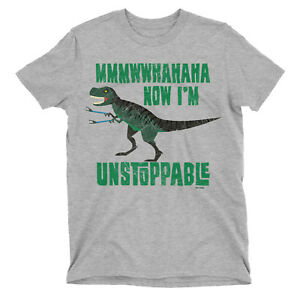 T Rex I Am Unstoppable Mens T-Shirt