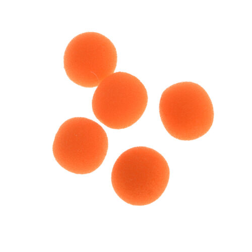 10x Finger Magic Props Sponge Ball Close-UP Street Illusion Stage Comedy Tric Yd