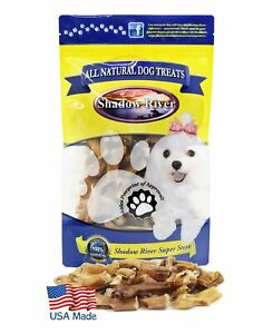 Shadow-River-ITTY-BITTY-Dog-Bully-Bites-100-USA-Beef-Bully-Stick-Pieces-10oz