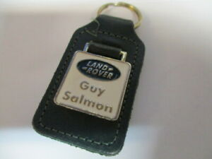 Landrover-guy-salmon-leather-keyring-Superb-condition-fastfree-post