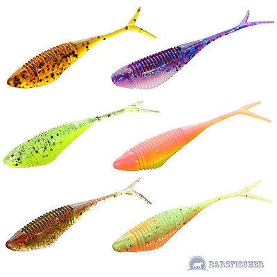 JIG GUMMIKÖDER GUMMIFISCHE RAUBFISCH NEU MIKADO FISH FRY DROP SHOT SOFT LURES