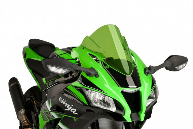 PUIG SCREEN Z-RACING KAWASAKI ZX-10RR 17-20 GREEN
