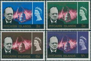 Pitcairn-Islands-1966-SG53-56-Churchill-set-MLH