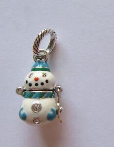 Brighton-Christmas-Charm-Snowman-hinged-opening-blue-white-heart-inside