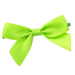 x100 Green Twist Tie Bows 3 inch st patricks day cake pop decoration fasteners
