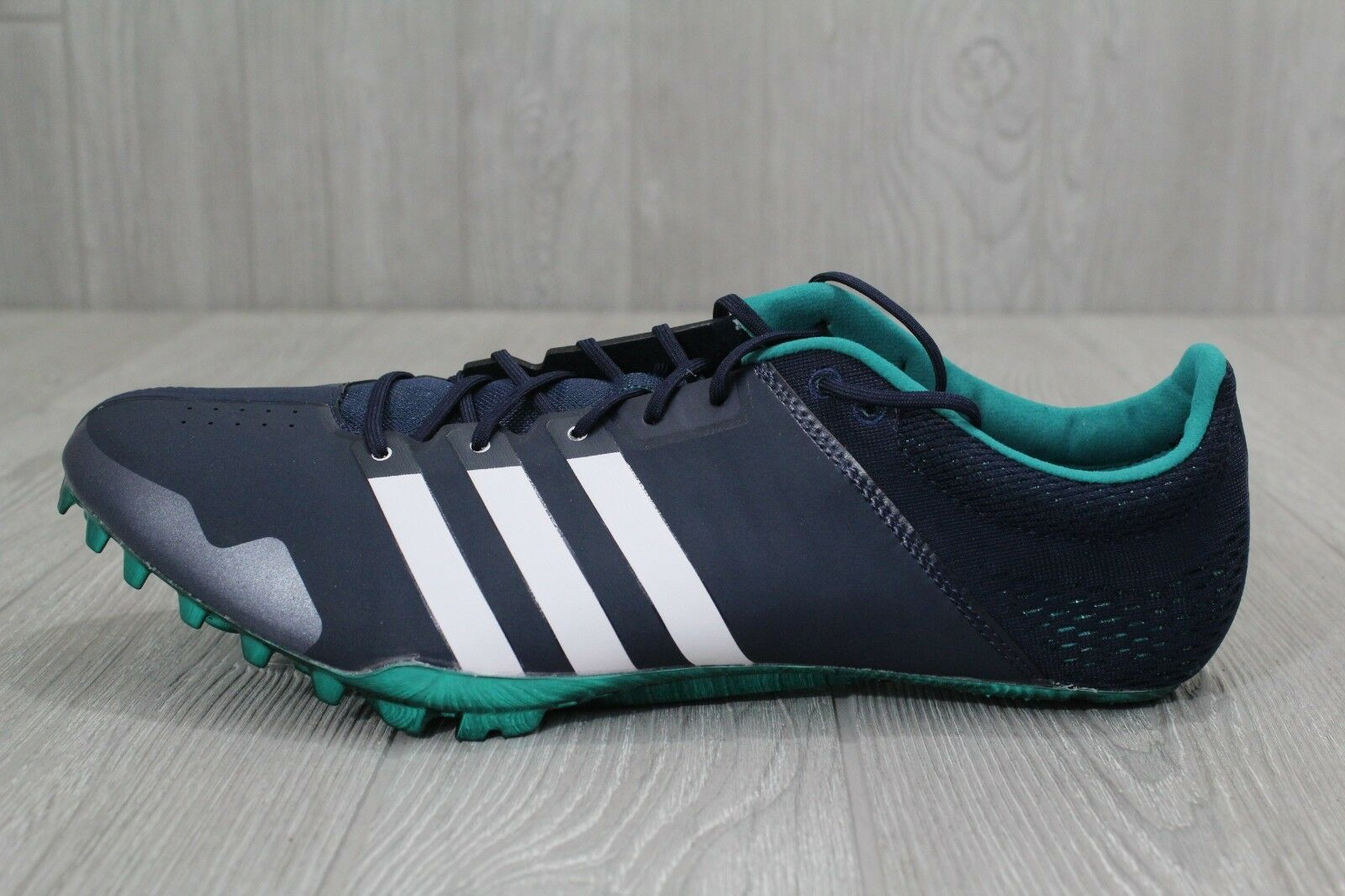 25 New Mens Adidas Prime Finesse Sprint Blue Spikes Track Sizes 6-13 AF5647
