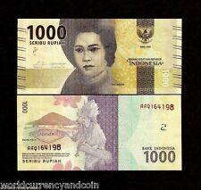Brick Lot 1000 PCS, Indonesia 1,000 Rupiah, 2016, P-NEW, UNC New Design Banknote