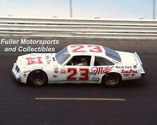 RARE DAVEY ALLISON #23 MILLER HIGH LIFE PONTIAC 1983 8x10 PHOTO NASCAR SPORTSMAN