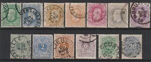 FRANCOBOLLI-1869-81-BELGIO-LEOPOLDO-II-Z-9416