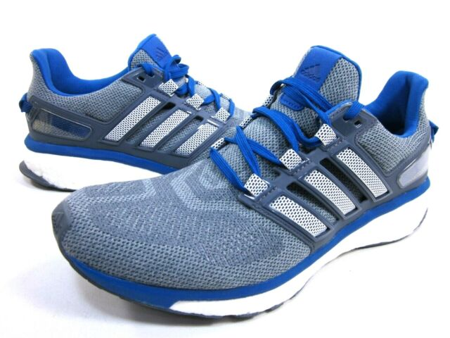 info for fd949 5d0ef ADIDAS PERFORMANCE MEN'S ENERGY BOOST 3 RUNNING SHOES,GREY/BLUE,US SIZE 11