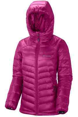 Columbia GOLD 650 TURBODOWN RDL Down Jacket Ruby Red AUTHENTIC Womens S-L NEW