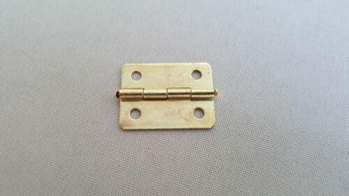 GOLD CERNIERE Craft DOLL HOUSE porta sul petto di mobili in ottone libera Viti Set