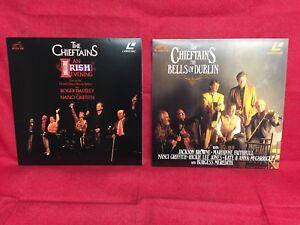 The-Chieftains-Laserdisc-LOT-of-2-The-Bells-of-Dublin-amp-An-Irish-Evening-LIVE-LD
