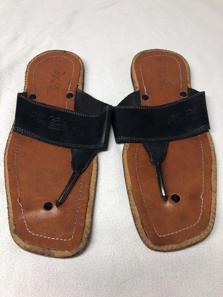 Vero Cudio Sandals Hand Made in  Mens Size 12