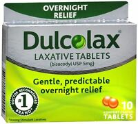 Dulcolax Tablets 10 Tablets (pack Of 2) on sale