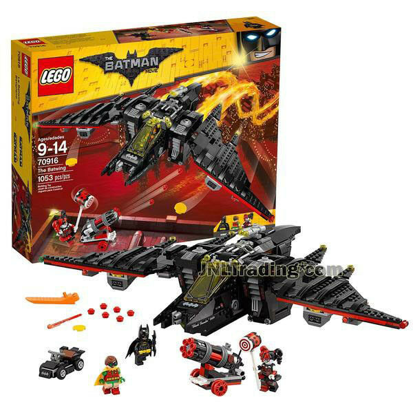 NEW 2017 LEGO The Batman Movie Set 70916 THE BATWING Batman Robin Harley Quinn