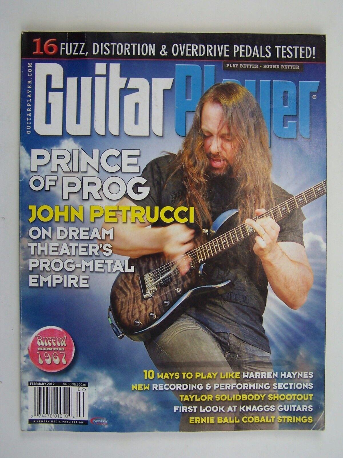Guitar Player Magazine February 2012 Prince of Prog Joh