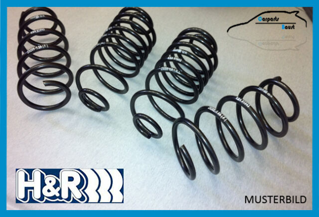 H&R Front Lowering Springs Fiat 500 incl. Abarth 20/1 3/8in 29054-2 with Abe