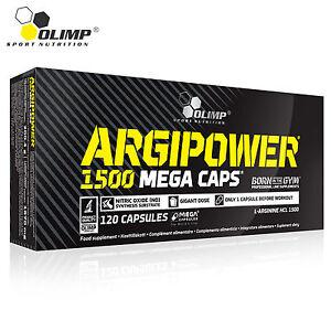 ARGIPOWER-30-150-Caps-L-Arginine-Nitric-Oxide-Muscle-Pump-amp-Grow-Bodybuilding