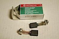 Hitachi Carbon Brush Set For Hitachi Tool Models/part 999-071