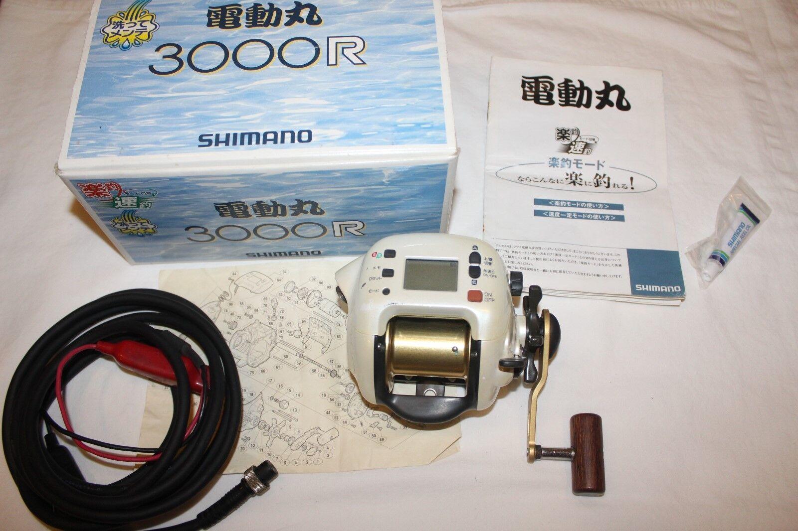 SHIMANO DENDOU-MARU 3000 3000 DENDOU-MARU R IM OVP-ELEKTROROLLE-MADE IN JAPAN-Nr-861 2a12bc