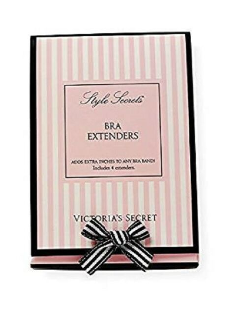 086398f955a73 Victoria S Secret VS 4 Bra Extenders Style Secrets Black Nude 2 Sizes for sale  online