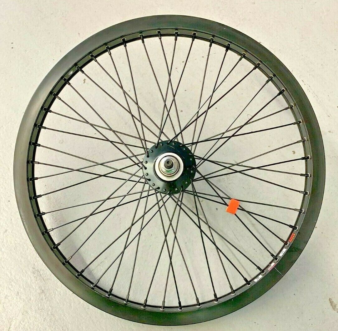 20x1.75 SUN BIG CITY 48 BK-OPS 3 8 Bolt On Alloy BLK FRONT Bicycle Wheel