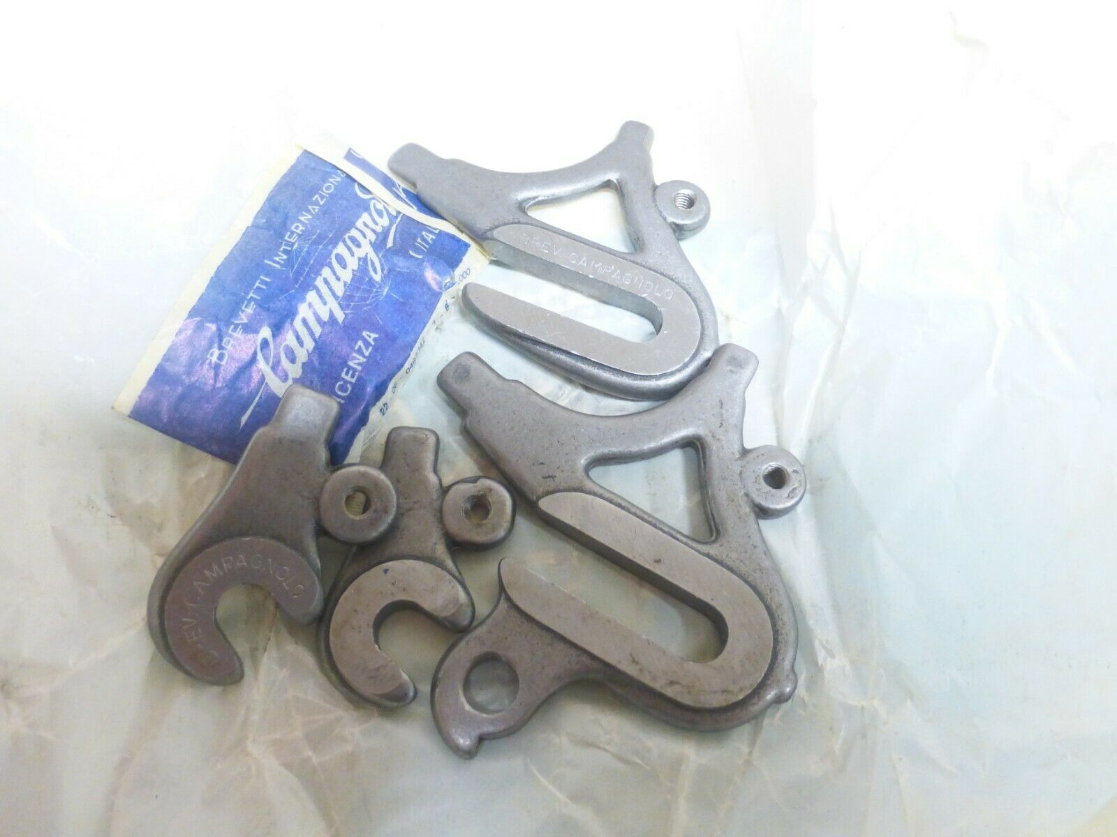 Campagnolo Dropout Set Vintage Frame Dropouts 1010 With Eyelets Brazeons B NOS for sale online