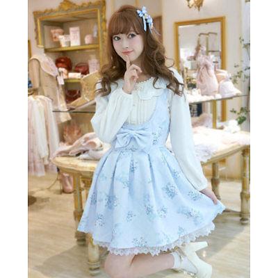 LIZ LISA - Sweet Rose Jumper Skirt