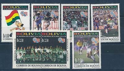 Bolivien Nr.1236-42** Fußball Neueste Technik Fußball 211697 Briefmarken