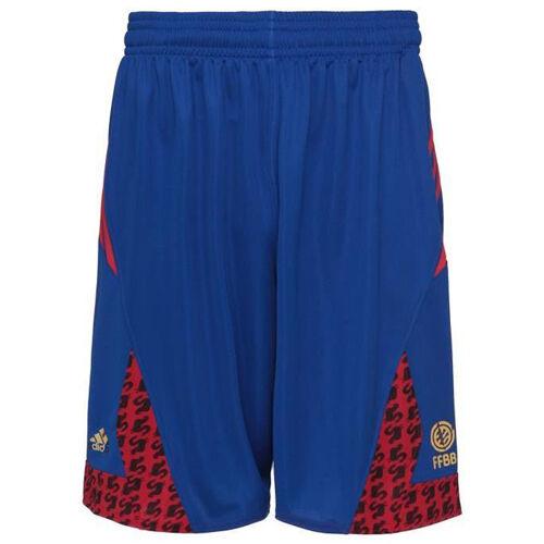 Details about Adidas France International Replica Basketball Mens Shorts Blue AI6325 R1B