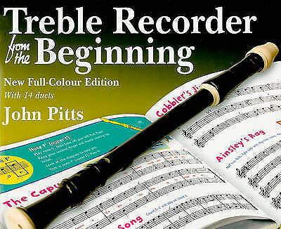 1 of 1 - John Pitts: Treble Recorder from the Beginning - Pupil Book. New full colour ed.