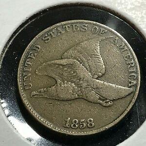 1858-FLYING-EAGLE-LARGE-LETTERS-BETTER-GRADE-CENT