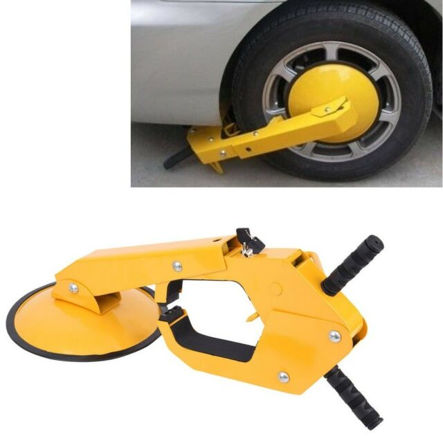 2PCS Anti Theft Wheel Lock Clamp Boot Tire Claw Parking Car Truck RV Boat