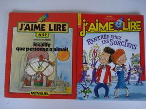 Collection-de-200-numeros-de-J-039-aime-Lire-differents-livre-avec-facture