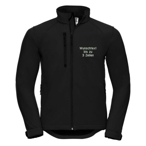 testo Softshell Giacca Jacket Novità richiesta Softshell Con Ricamata richiesta Work Giacca di nSS1Fa