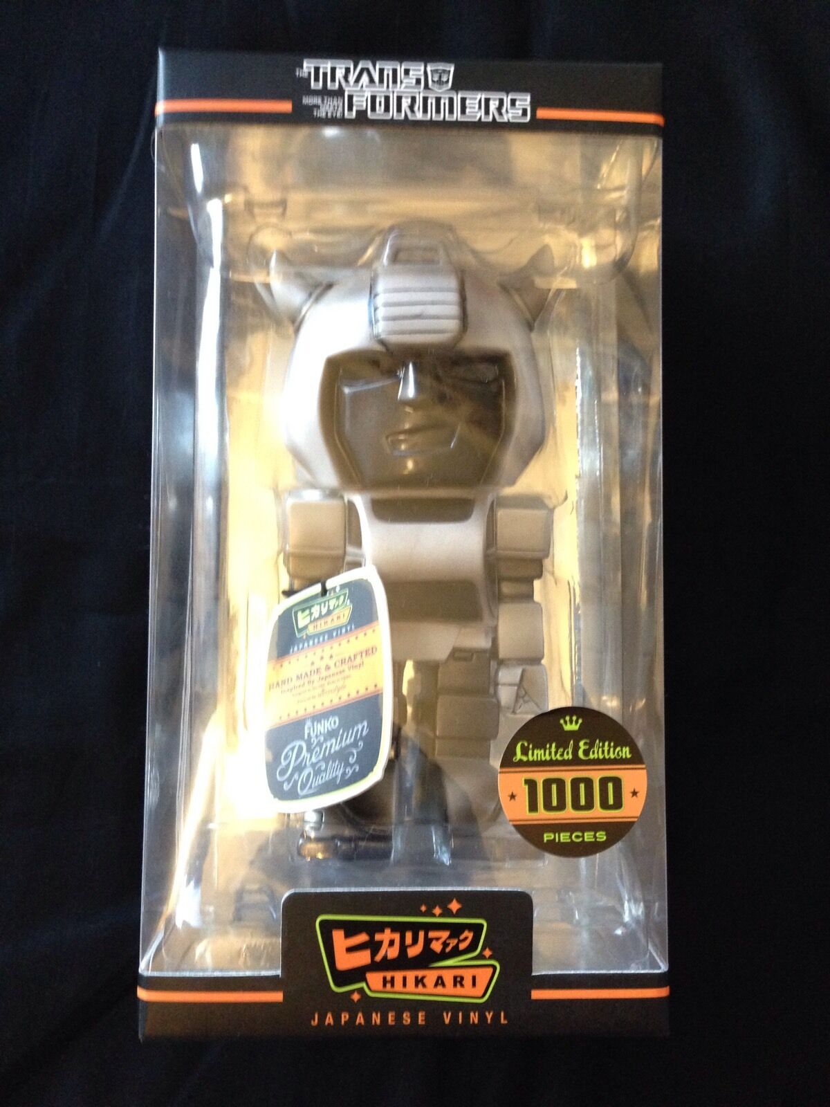 Transformers Grey Skull Bumblebee Hikari Vinyl Figure Ready to Ship