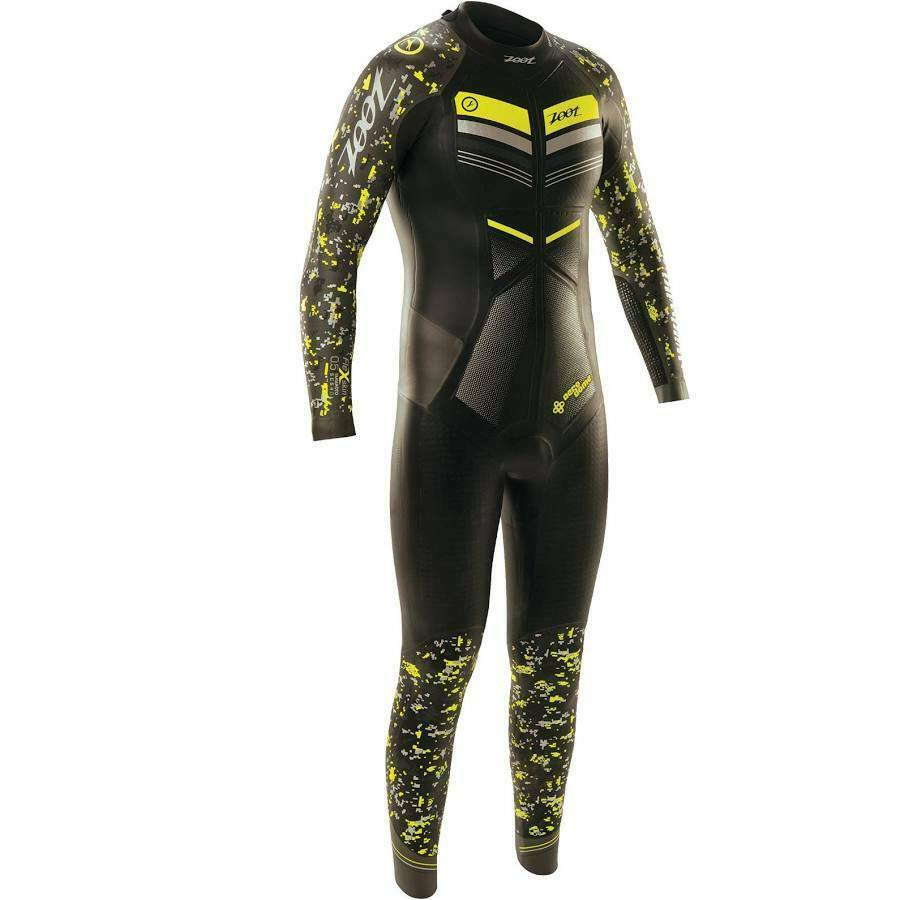 Zoot Wikiwiki Mens Medium Half Zip Long Sleeve Triathlon Wetsuit BNWOT RRP